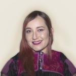 Artista mexicana  que fusiona las artes plásticas y visuales.Creadora de contenidos audiovisuales, producción, diseño gráfico, fotografía, vídeo y marketing; creativa con más de 10 años de experiencia en publicidad y comunicación.  Directora y productora de @TBlackBox.  Ha trabajado en Instituciones públicas. y privadas; como Dirección General de Televisión Educativa, así como para importantes proyectos  artísticos desarrollando piezas de artes plásticas, museografía, campañas para medios de comunicación y Redes Sociales.